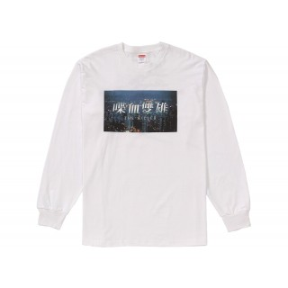 FW18 Supreme The Killer L/S Tee White