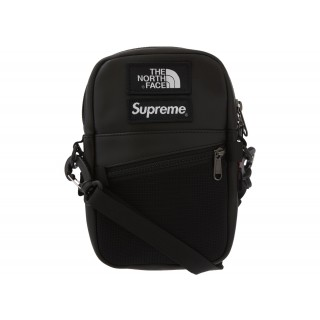 FW18 Supreme The North Face Leather Shoulder Bag Black