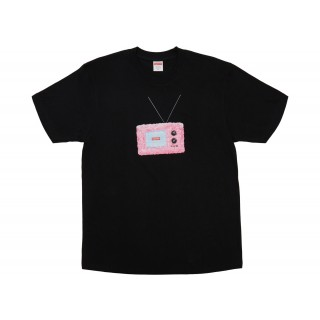 FW18 Supreme TV Tee Black
