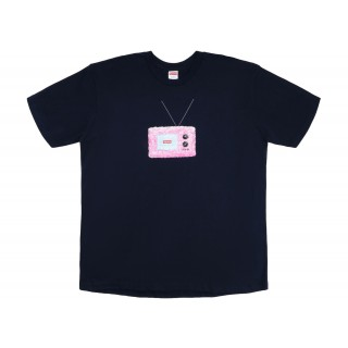 FW18 Supreme TV Tee Navy