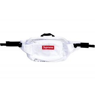 FW18 Supreme Waist Bag White